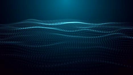 Particle-Waves-Loop-Blue