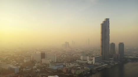 Bangkok-and-Chao-Phraya-River-at-Dawn